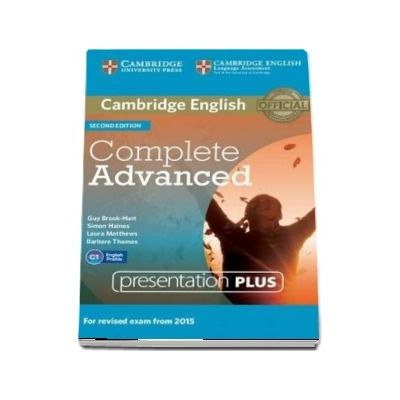 Complete Advanced Presentation Plus (DVD-ROM) - Simon Haines