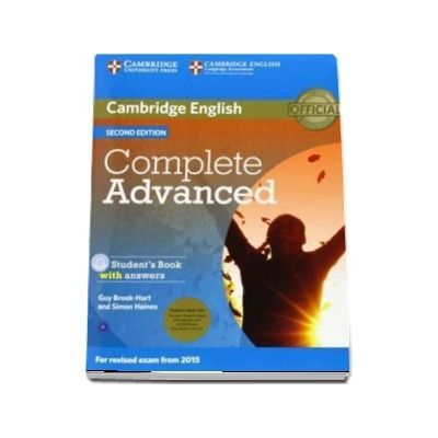 Complete Advanced Student's Book Pack (Student's Book with Answers with CD-ROM and Class Audio CD) - Guy Brook-Hart, Simon Haines