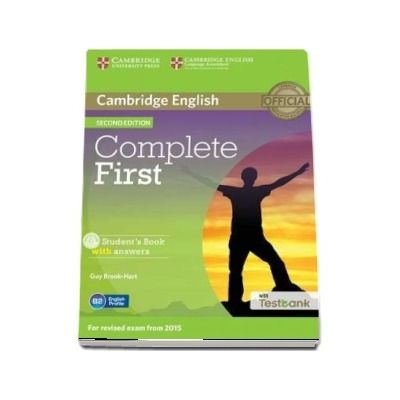 Complete First Student's Book with Answers with CD-ROM with Testbank (Guy Brook Hart)