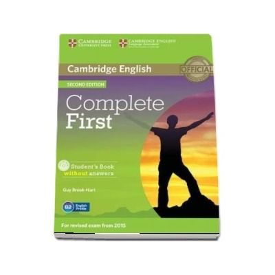 Complete First Student's Book without Answers with CD-ROM (Guy Brook Hart)