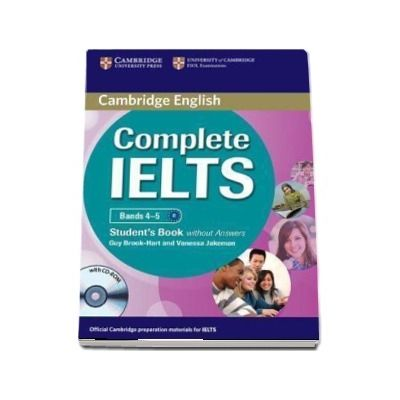 Complete IELTS Bands 4-5 Student's Book without Answers with CD-ROM - Guy Brook Hart