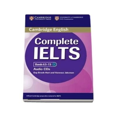 Complete IELTS Bands 6. 5-7. 5 Class Audio CD - Guy Brook-Hart, Vanessa Jakeman