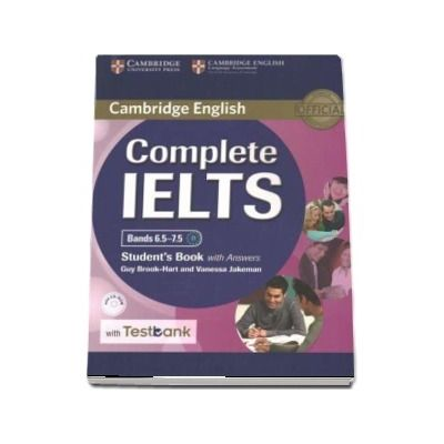 Complete IELTS Bands 6. 5-7. 5 Student s Book with answers with CD-ROM with Testbank - Guy Brook-Hart, Vanessa Jakeman