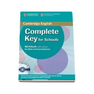 Complete Key for Schools Workbook with Answers with Audio CD - Sue Elliott, Emma Heyderman