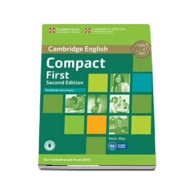 Compact First Workbook with Answers with Audio - Includes Audio (Peter May)