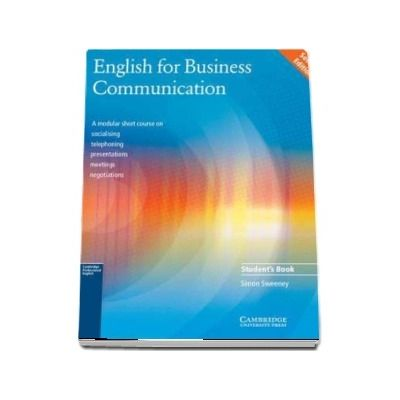 English for Business Communication Student s book - Simon Sweeney