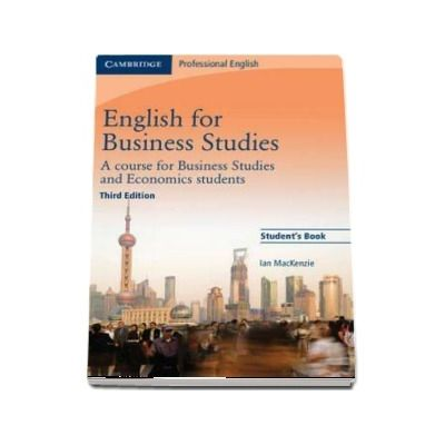 English for Business Studies Student's Book - A Course for Business Studies and Economics Students (Ian Mackenzie)