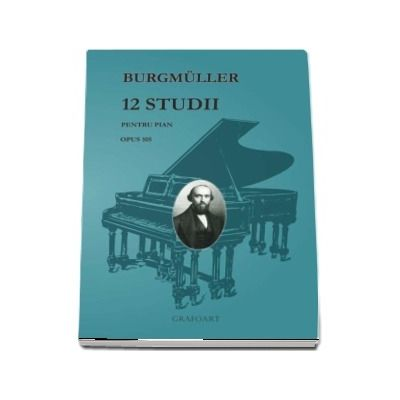 12 studii pentru pian, Opus 105 - Burgmuller
