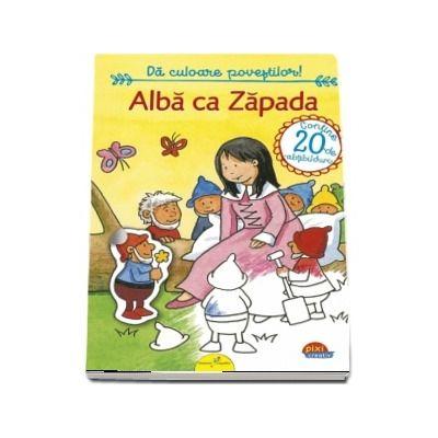 Alba ca Zapada - Colectia Pixi Creativ - Grimm Fratii