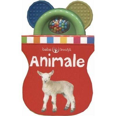 Bebe invata - Animale. Prima carte-jucarie