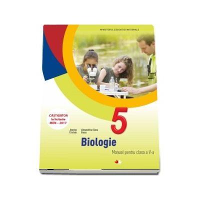 Biologie, manual pentru clasa a V-a. Contine si editia digitala - Jeanina Cirstoiu