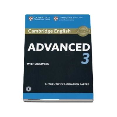 Cambridge English Advanced 3. Student's Book with Answers with Audio