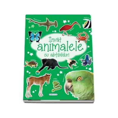 Invat animalele cu abtibilduri