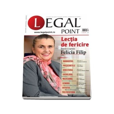 Revista Legal Point, numarul 1-2018