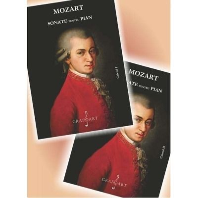 Set Sonate, caietul 1 si caietul 2 de W. A Mozart
