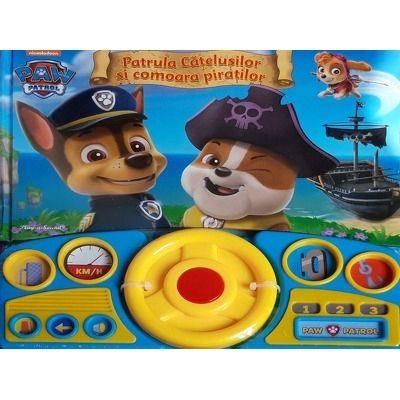 Patrula Catelusilor Si Comoara Piratilor Carte Cu Sunete