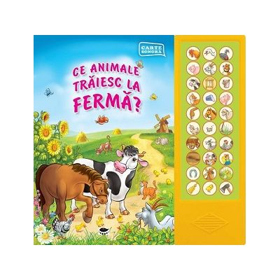 Ce animale traiesc la ferma? - Carte Sonora
