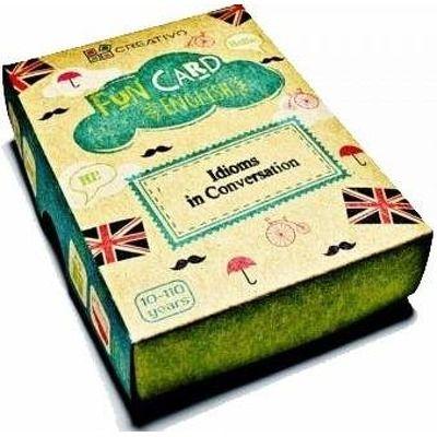 Carti de joc educative in limba engleza. Fun Card English. Idioms in Conversation