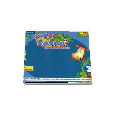 Super safari 3. Teachers book - Herbert Puchta