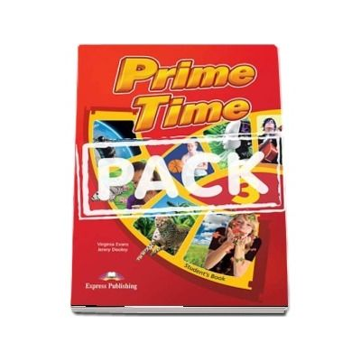 Curs de limba engleza - Prime Time 3 Students Book with ieBook