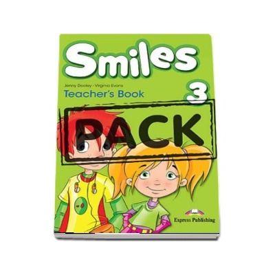 Curs de limba engleza - Smiles 3 Teachers Book with Posters