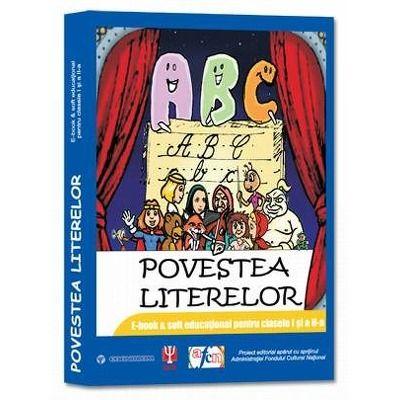 Povestea literelor - E-book & soft educational Litere