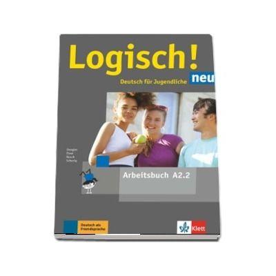 Logisch! neu A2. 2 Deutsch fur Jugendliche Arbeitsbuch mit Audios zum Download