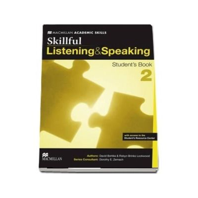 Skillful Level 2 Listening and Speaking Students Book Pack