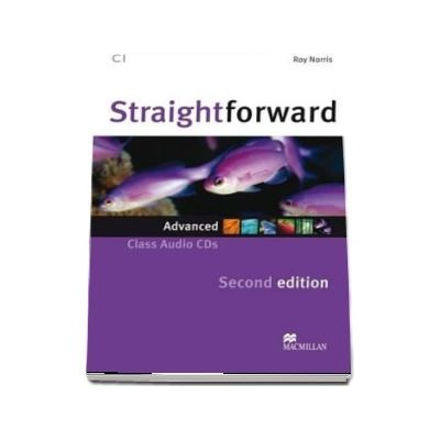 Straightforward 2nd Edition Advanced Level Class Audio CD