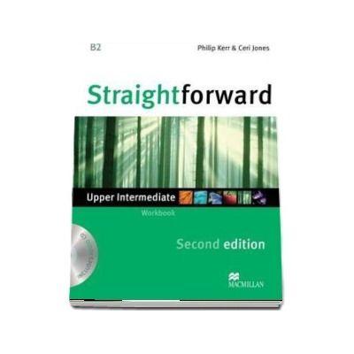 Straightforward 2nd Edition Upper Intermediate Level Workbook without key & CD