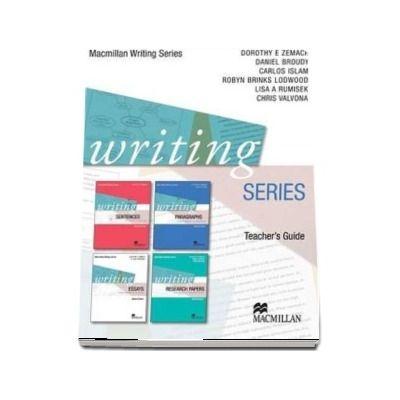 Writing Series. Teachers Guide
