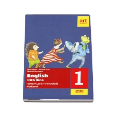 English with Nino. Workbook, clasa I (Bianca Popa)
