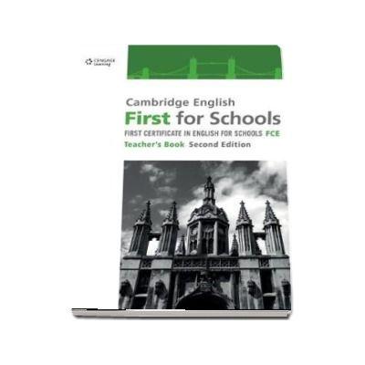 Cambridge English First for Schools. Teachers Book