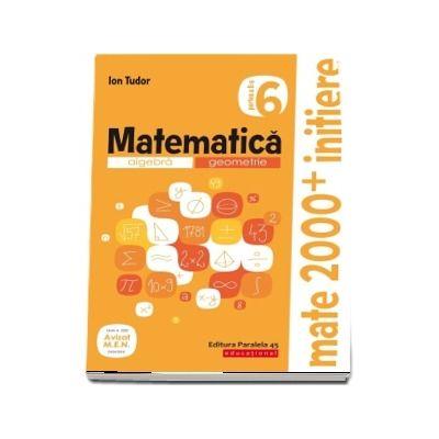 Matematica. Algebra, geometrie. Caiet de lucru. Clasa a VI-a. Initiere. Partea a II-a (Avizat M. E. N.)