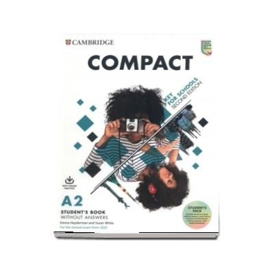 Compact Key for Schools Students Book without Answers with Online Practice and Workbook without Answers with Audio Download