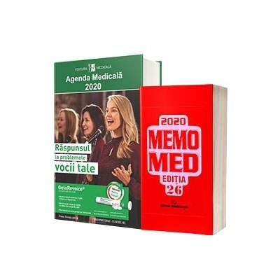 Pachetul Medicului si Farmacistului. Agenda Medicala 2020 si MemoMed 2020