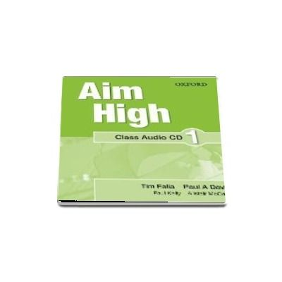 Aim High Level 1 Class Audio CD: A new secondary course which helps students become successful, independent language learners