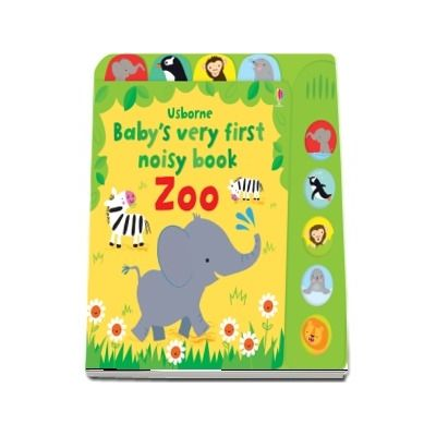Babys very first noisy book zoo