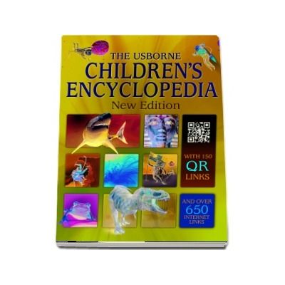 Childrens encyclopedia with QR links