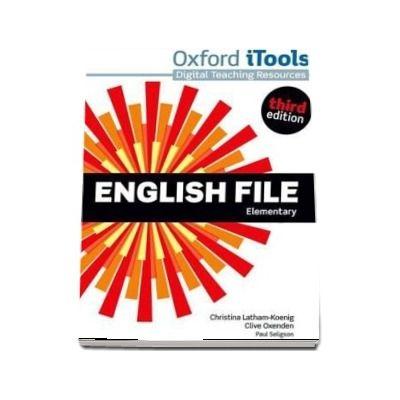 English File third edition: Elementary: iTools
