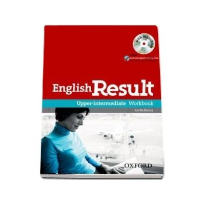 English Result Upper-Intermediate, Workbook with MultiROM Pack, General English four-skills course for adults