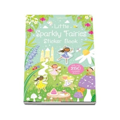 Little sparkly fairies sticker book