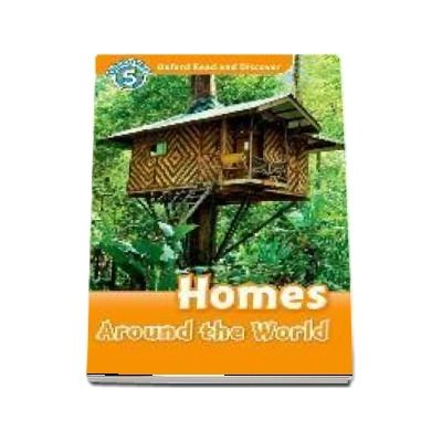 Oxford Read and Discover, Level 5. Homes Around the World Audio CD Pack
