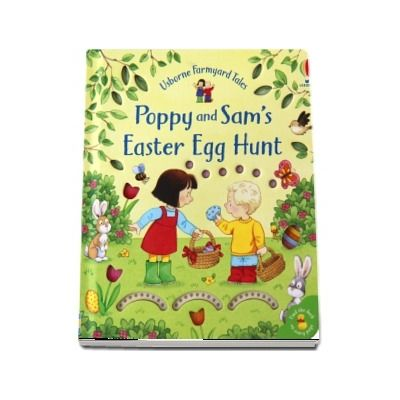 Poppy and Sams Easter egg hunt