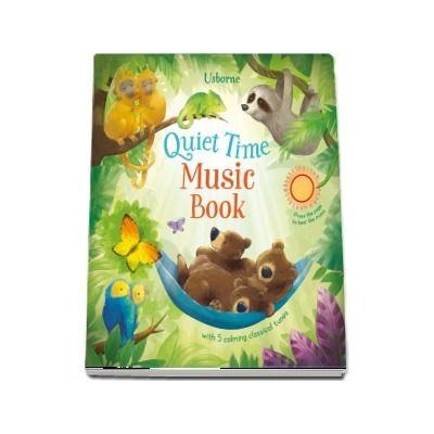 Quiet time music book