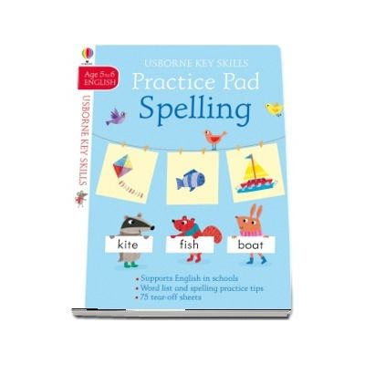 Spelling practice pad 5-6