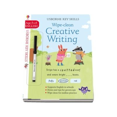 Wipe-clean creative writing 5-6