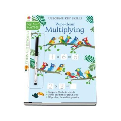 Wipe-clean multiplying 6-7