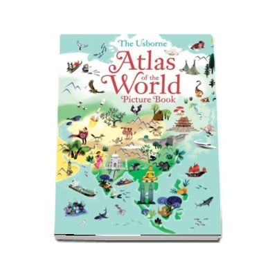 Atlas of the world picture book