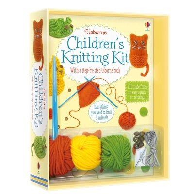 Childrens knitting kit